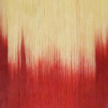 Tono OMBRE Rubio Claro / Rojo #613/RED