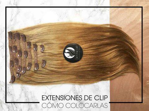 Extensiones de clip: ¿Cómo colocarlas?