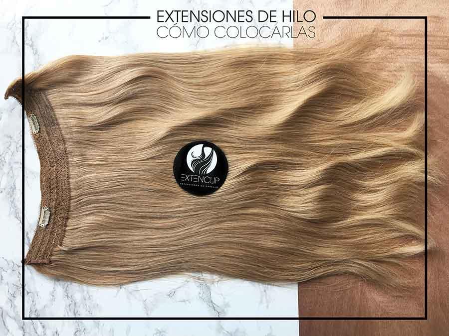 Extensiones de Hilo: ¿Cómo colocarlas?