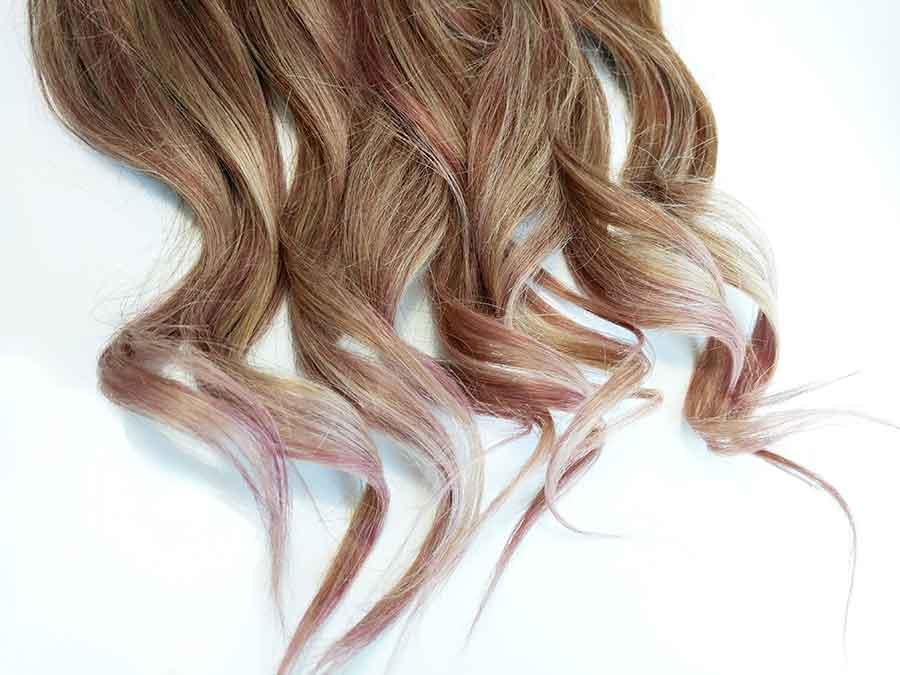 ¡Así de fácil se logra un color Rose Gold en puntas!